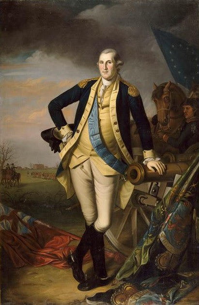 Charles Wilson Peale (1741 - 1827), George Washington après la bataille de Princeton le 3 janvier 1777, vers 1779, Versailles, musée national du Château et des Trianons